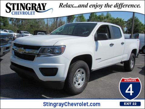 New 2018 Chevrolet Colorado 4WD Work Truck 4WD