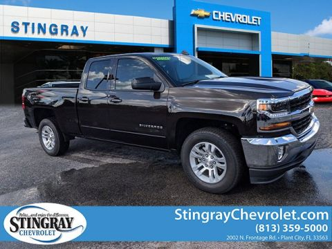 New 2018 Chevrolet Silverado 1500 2WD Double LT
