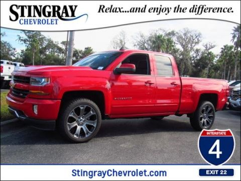 New 2017 Chevrolet Silverado 1500 4WD Double LT