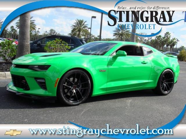 Pre Owned 2017 Chevrolet Camaro 2ss Fireball