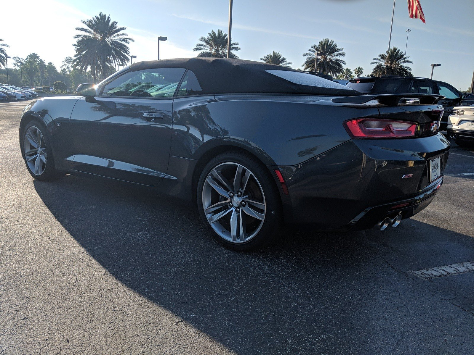 New 2017 Chevrolet Camaro Ss 2d Convertible In Plant City H0112821