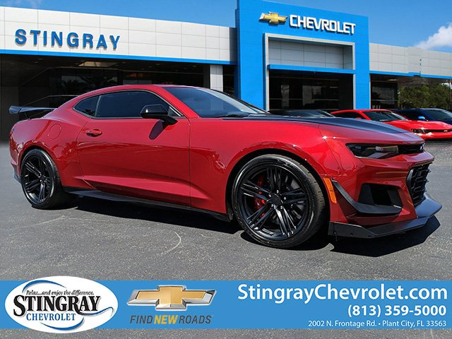 Used Camaro Zl1 For Sale >> New 2019 Chevrolet Camaro Zl1 Rwd 2d Coupe