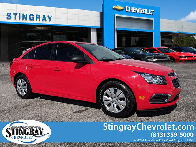 Certified Pre-Owned 2015 Chevrolet Cruze L