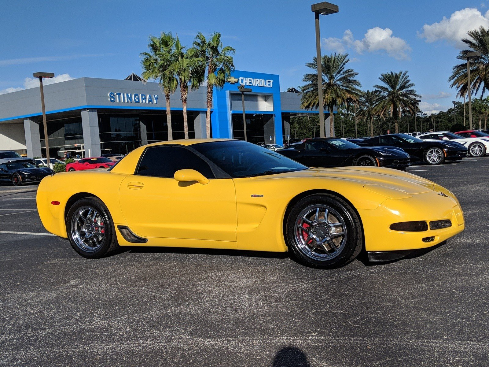 Pre Owned 2002 Chevrolet Corvette Z06 2dr Car in Plant City