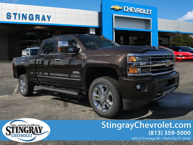 New 2019 Chevrolet Silverado 2500HD High Country Crew Cab ...