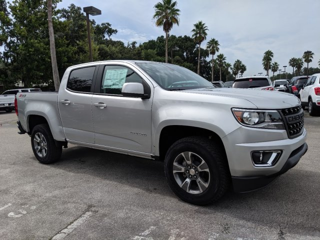 New 2019 Chevrolet Colorado 4WD Crew Z71