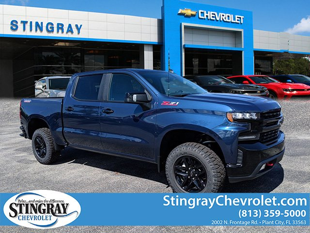 New 2019 Chevrolet Silverado 1500 4wd Crew Lt Trail Boss