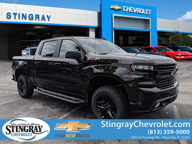 New 2019 Chevrolet Silverado 1500 4wd Crew Lt Trail Boss 4wd