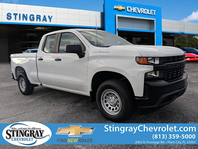 New 2019 Chevrolet Silverado 1500 4WD Double WT