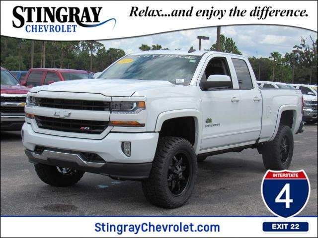 New 2017 Chevrolet Silverado 1500 4wd Double Lt Lifted