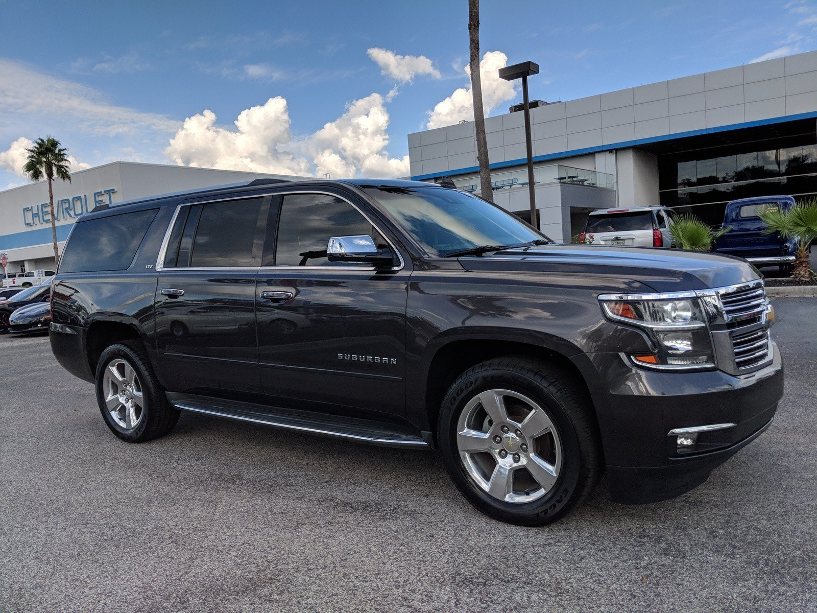 Pre Owned 2015 Chevrolet Suburban Ltz Sport Utility In Plant City Chevy Tahoe