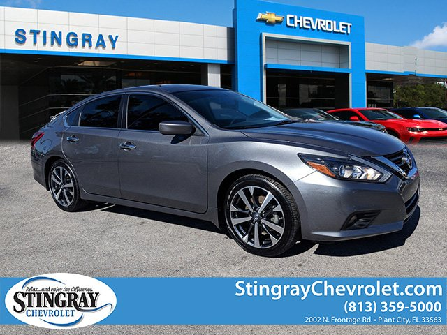 pre-owned 2017 nissan altima 2.5 sr 4dr car in plant city #hc486261