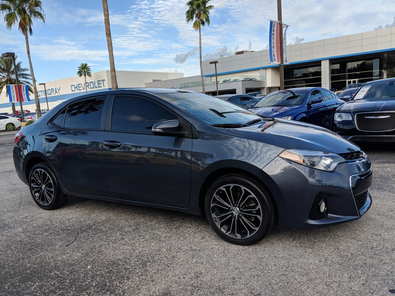 Pre Owned 2015 Toyota Corolla S 4dr Car in Plant City FC
