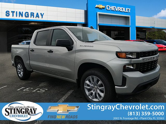New 2019 Chevrolet Silverado 1500 2WD Crew CX