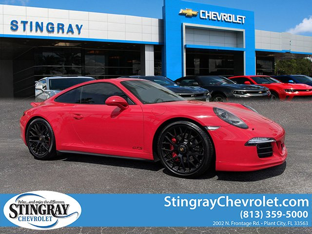 Pre Owned 2016 Porsche 911 Carrera Gts 2dr Car In Plant City