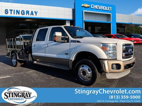 Pre-Owned 2011 Ford F-450SD King Ranch