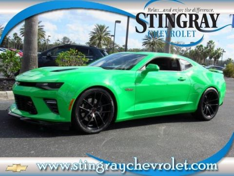 Pre-Owned 2017 Chevrolet Camaro 2SS Fireball