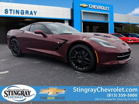 New 2019 Chevrolet Corvette Stingray Z51 3LT