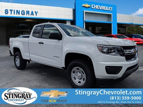 New 2019 Chevrolet Colorado 2WT Ext