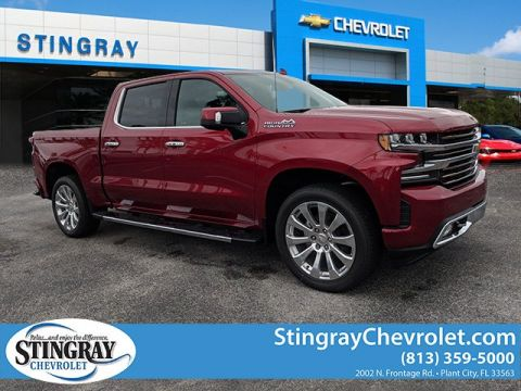New 2019 Chevrolet Silverado 1500 2WD Crew High Country