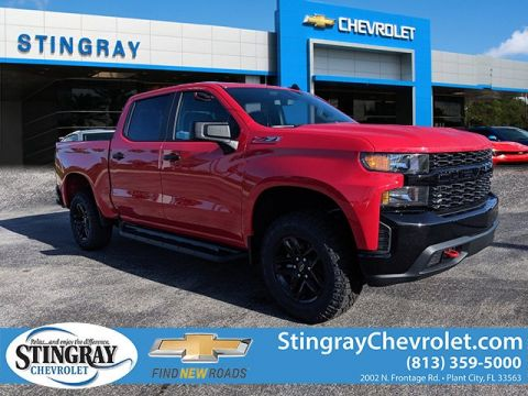 New 2019 Chevrolet Silverado 1500 4WD Crew CX Trail Boss