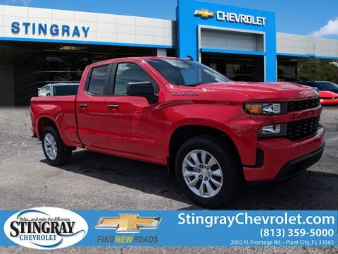 New 2019 Chevrolet Silverado 1500 2WD Double CX