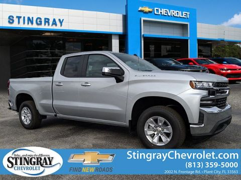 New 2020 Chevrolet Silverado 1500 2WD Double LT