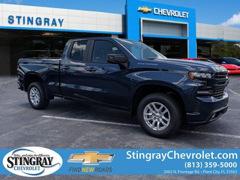 New 2019 Chevrolet Silverado 1500 2WD Double RST