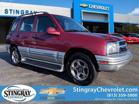 Pre-Owned 2001 Chevrolet Tracker LT