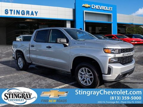 Pre-Owned 2019 Chevrolet Silverado 1500 Custom